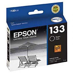 Cartucho de Tinta Epson T133120 T133 T1331 Preto T22 TX120 TX320F Compatível 6mlCartucho de Tinta Epson T133120 T133 T1331 Preto T22 TX120 TX320F Compatível